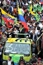 Manifestação Popular-Ambato-Equador