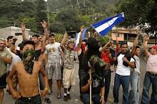 Nos bairros pobres de Honduras cresce a resistência popular