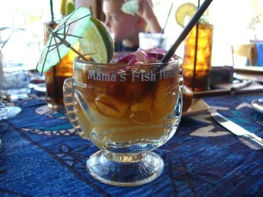 Good taste buds mama 39 s fish house north shore maui hawaii for Mamas fish house maui menu