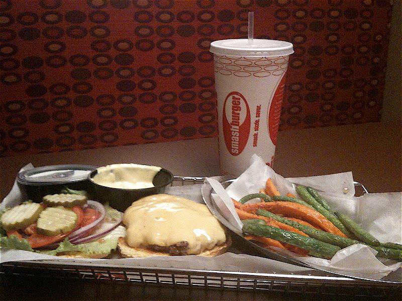 GOOD TASTE BUDS: Smashburger, Addison, Texas