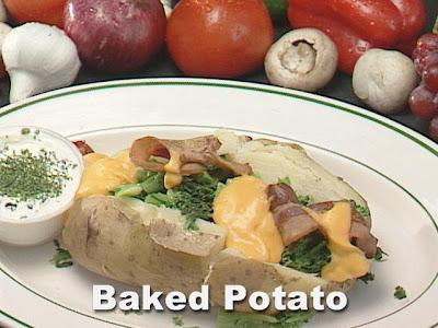 Baked Potato...Papa Al Horno