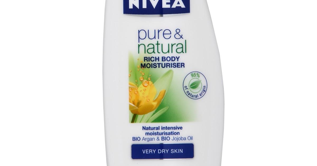 Nivea Natural Oil Shower Gel For Dry Skin Body Wash