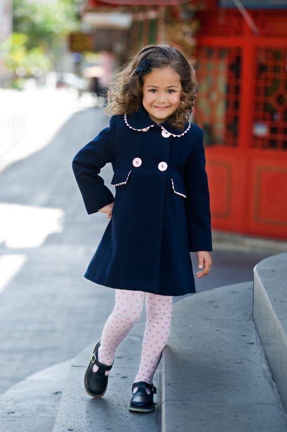 Como combinar un vestido azul de nina