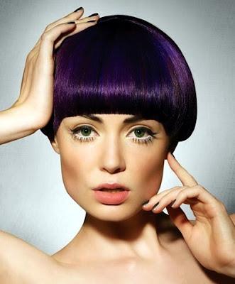 Dark Purple Hair Dye Color