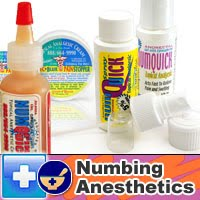 Tattoo supplies blog numbing agents for tattoos for Does dr numb work for tattoos