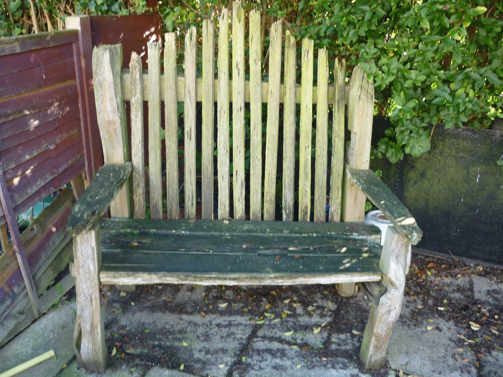 House Clearance Garden Bench Handmade From Recycled New Zealand Wood