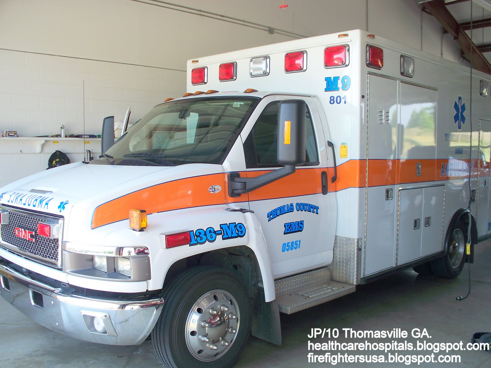 Fire Dept Trucks GA FL AL Rescue Station Firemen