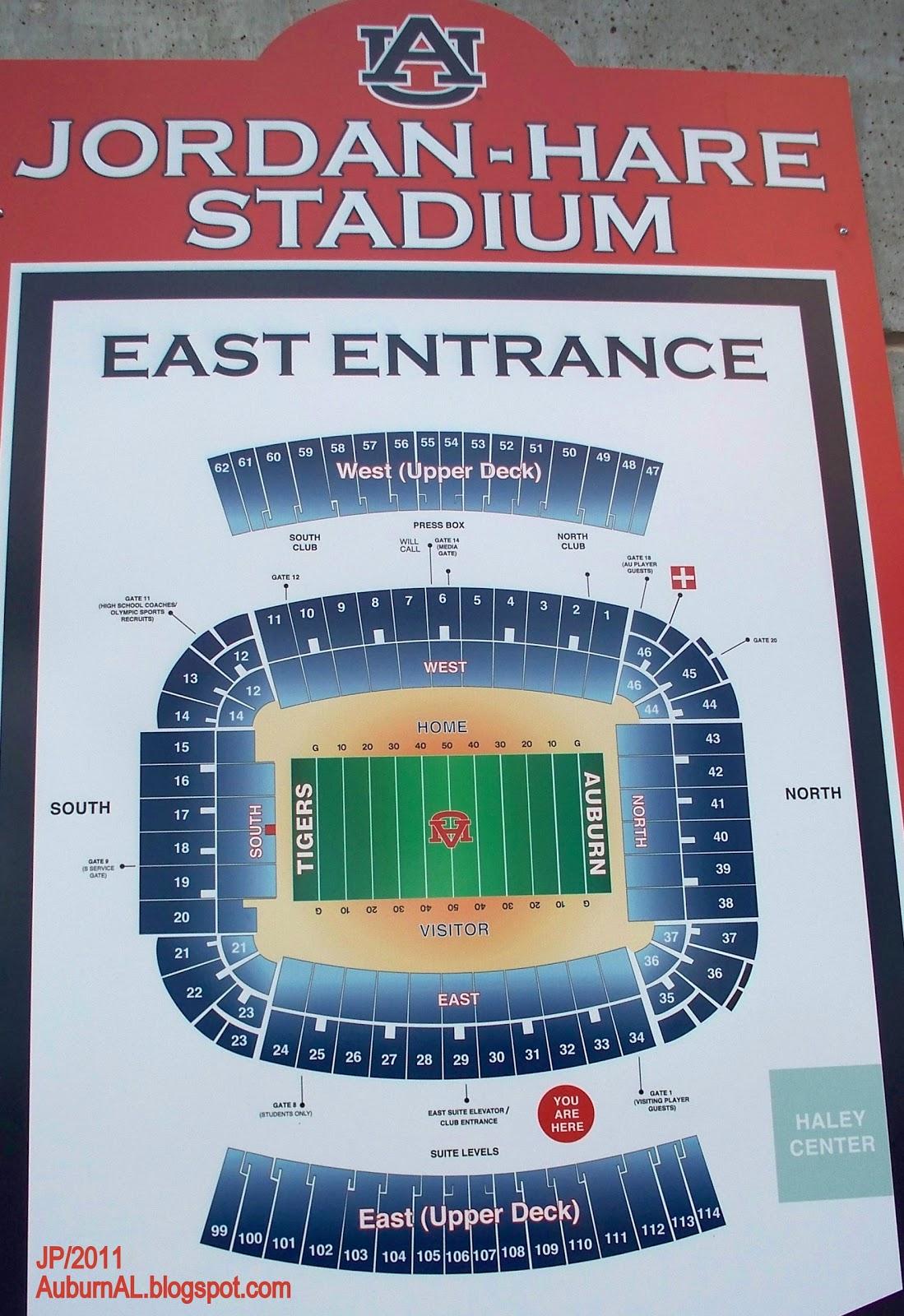 Football Stadium Seating Charts