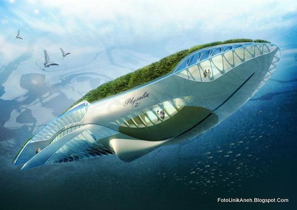 kapal Atau Taman Terapung Peduli Lingkungan