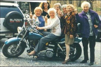 Geng Motor Wanita  Angkatan Jaman Jebot