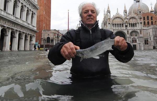 Menangkap Ikan Di kala Banjir