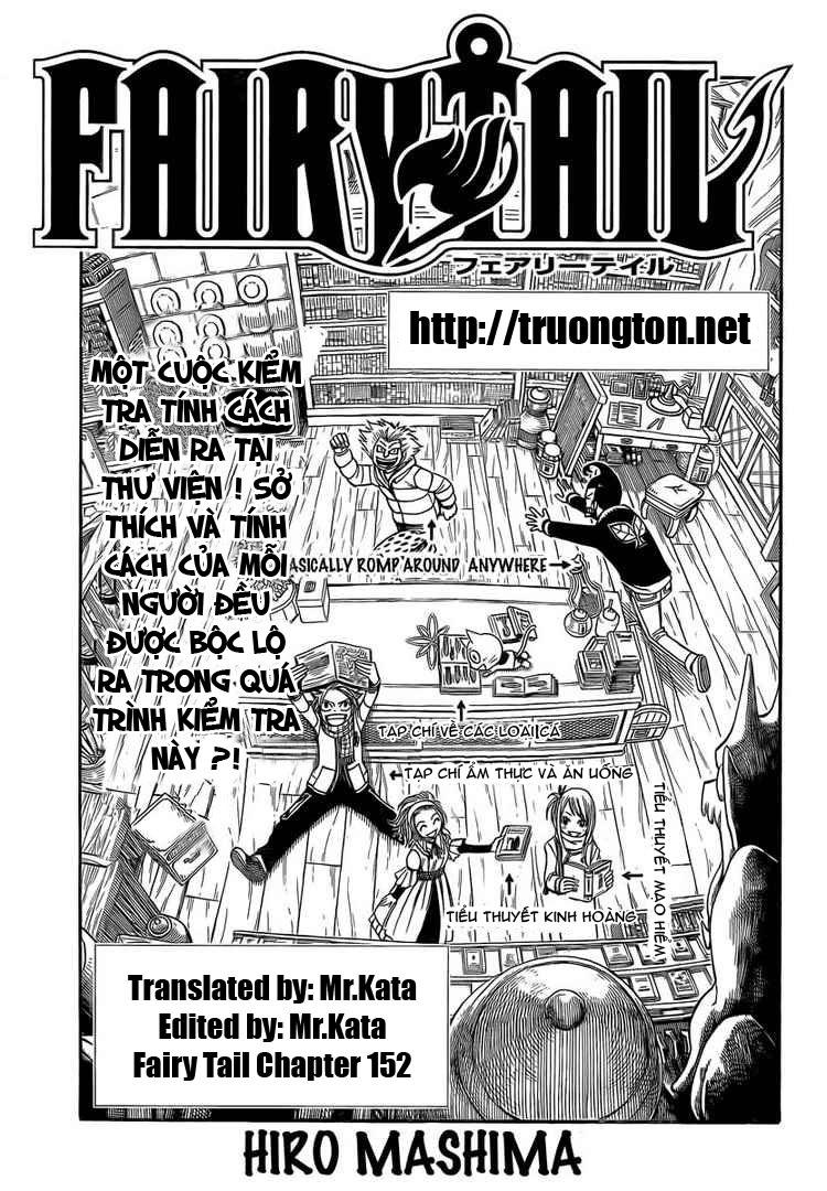 Fairy Tail chap 152 page 1 - IZTruyenTranh.com