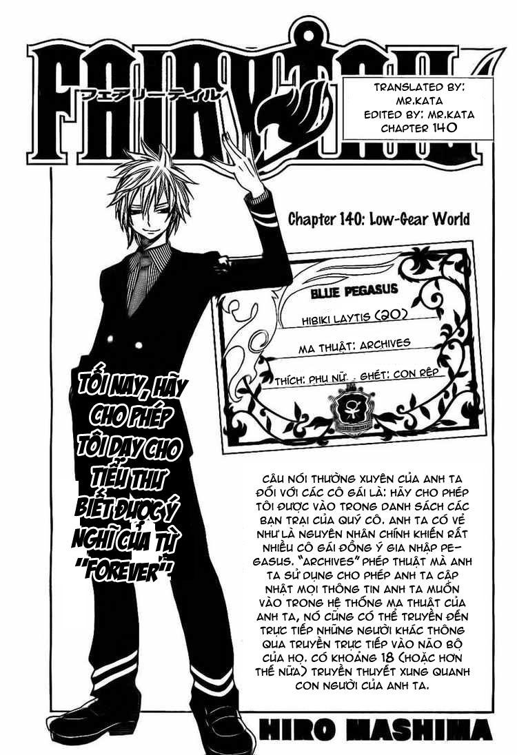 Fairy Tail chap 140 page 1 - IZTruyenTranh.com