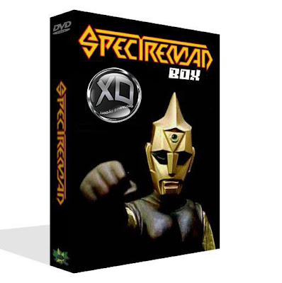 Spectreman (60 Episódios) Dublado SPECTREMAN DUBLADO BOX 7 DVDS c C3 B3pia