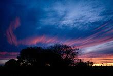 Dawn in Central Australia
