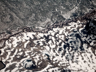 aerial photograph,river