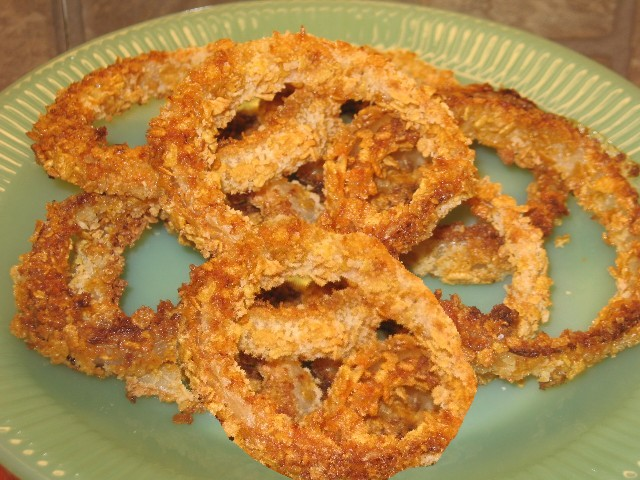 Coleen's Recipes: BAKED ONION RINGS