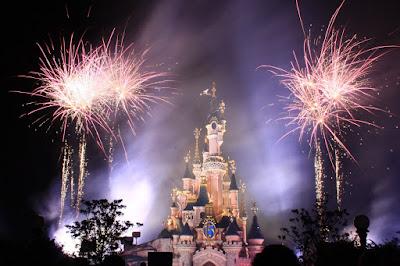 Disney And More Disneyland Paris Enchanted Fireworks Wallpaper Pictures