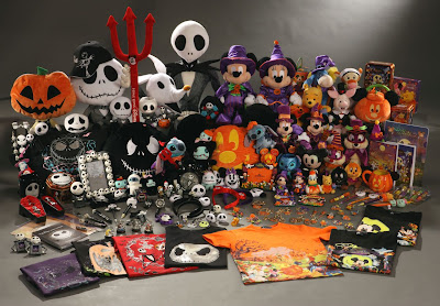 this last picture is about the halloween merchandise products and those of you who love nightmare before christmas should be interested by some of