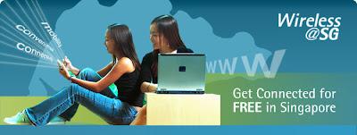 Singapour wifi gratuit