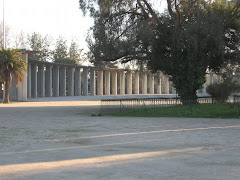 Parque del templo votivo de maipu.