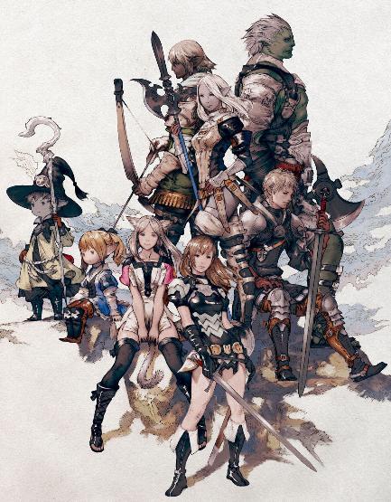 Experiencia con Final Fantasy y el nuevo juego Final Fantasy 14 Online Final_fantasyXIV_personajes