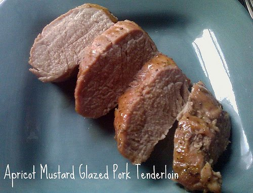 Apricot mustard glazed pork tenderloin recipe