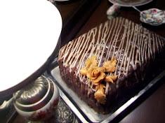 Tort cu ciocolata alba si visine