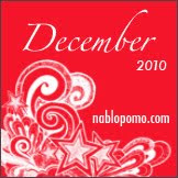 December 2010 NaBloPoMo