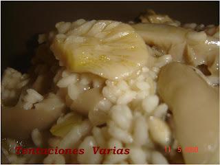 Tentaciones varias risotto con setas - Risoto con setas ...