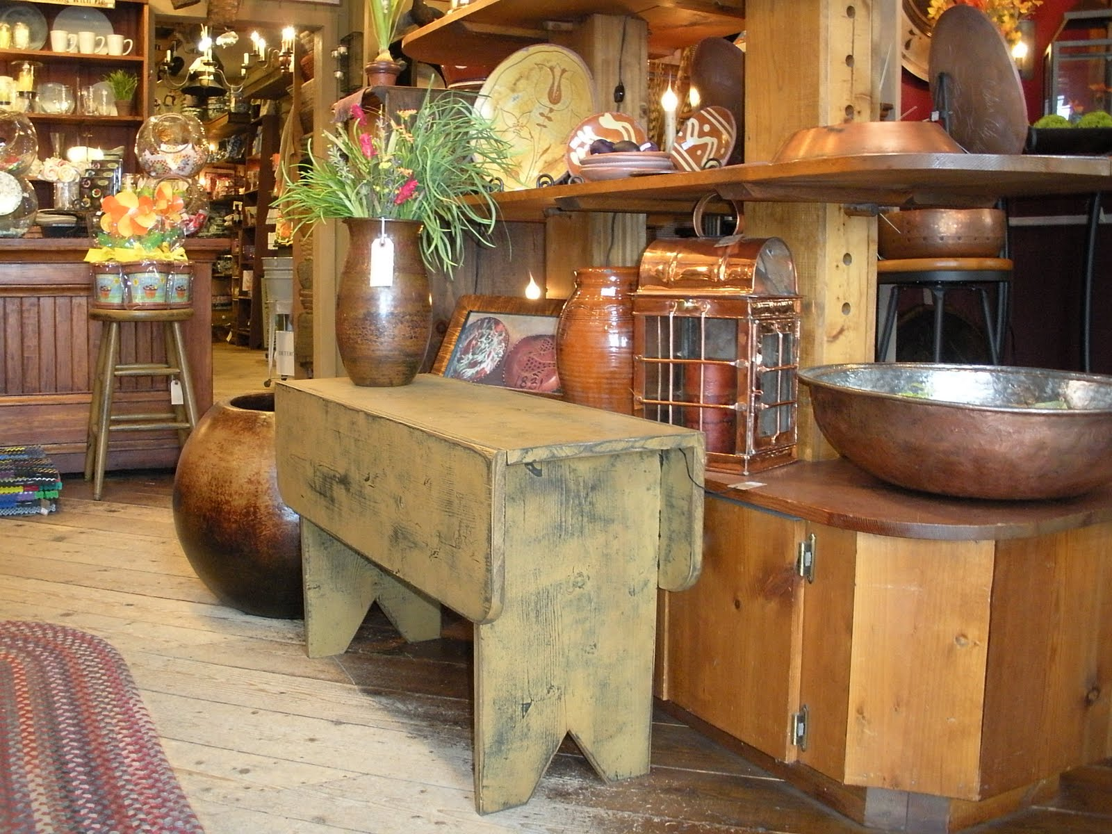 Home Sweet Home: Primitive Country Furniture