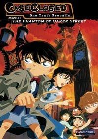 Thám Tử Conan 06: Bóng Ma Đường Baker - Detective Conan Movie 06: The Phantom Of Baker Street poster
