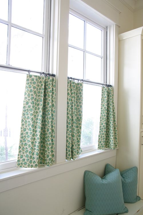 Simple Cafe Curtains - Martha Stewart Accents & Details