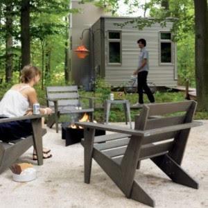 CB2 Sawyer Chair. Emmet Lounge ...