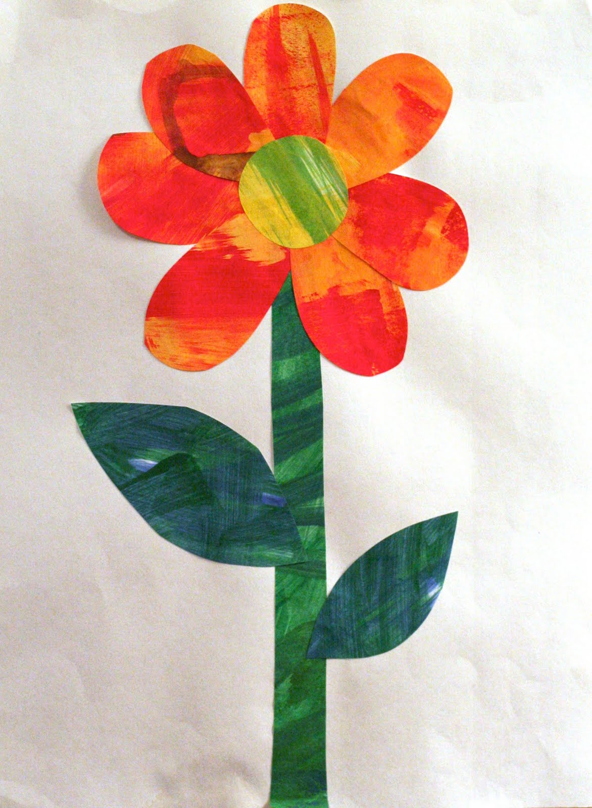 Planted By Streams The Tiny Seed Eric Carle Inspired Art