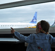 At last Gracie girl spotted her Jet Blue airplane! This was such an exciting . (our airplane in burlington!!!)