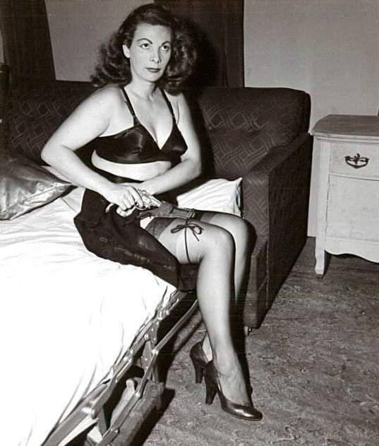 Vintage Stocking Pics 90