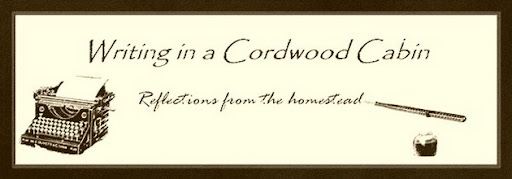 Writing In A Cordwood Cabin