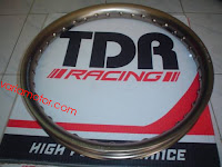 velg TDR racing u-shape