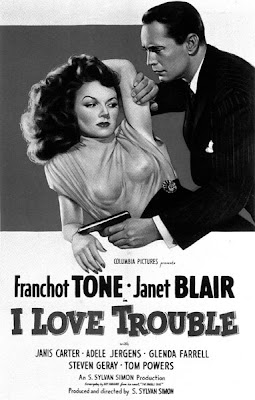 Janet Blair. I'll have to see this one sometime, because Glenda Farrell is in it.