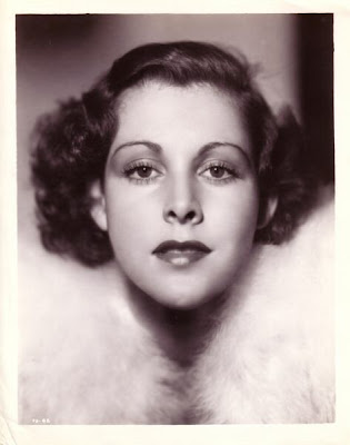 Studio portrait, probably Paramount, of the lovely Miss Frances Dee.