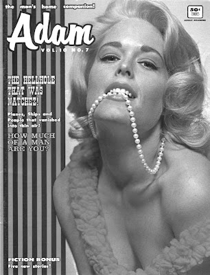 She likes pearls maybe a little TOO much. And who ever heard of a 50-cent magazine?