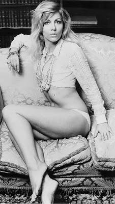 Hammer Horror girl Ingrid Pitt.