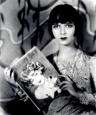 It's not literature, but Louise Brooks seems to enjoy it.