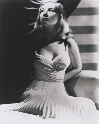 Veronica Lake was a tiny little clothes horse. She ended up as a waitress.