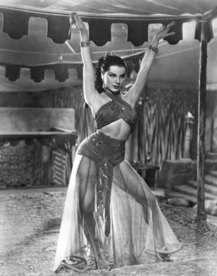 Little Debra Paget from, I think, a movie called Cleopatra's Daughter.