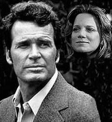 Gretchen Corbett and James Garner.