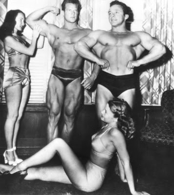 Steve Reeves and some other guy.