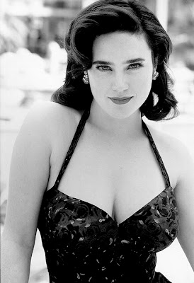 Jennifer Connelly keeping us warm.