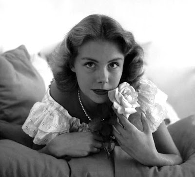 Betsy Von Furstenberg's eyes.